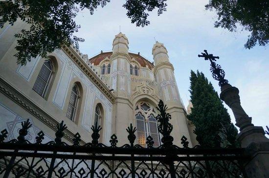 Iglesia de San Manuel y San Benito: Back side of the church.