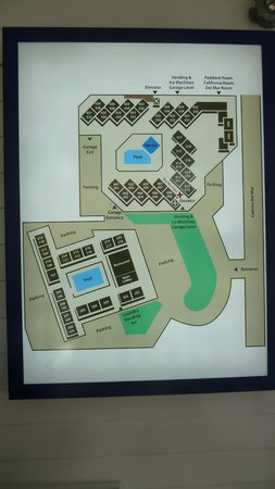 Hotel Indigo San Diego Del Mar: Layout of Property