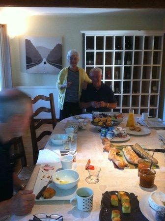 Le Moulin Vieux : Breakfast at Moulin Vieux