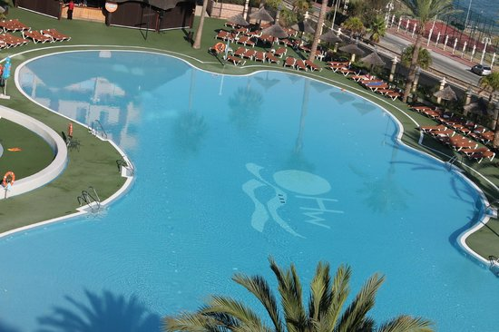 Pool party picture of holiday village benalmadena Dunfermline hotels with swimming pool