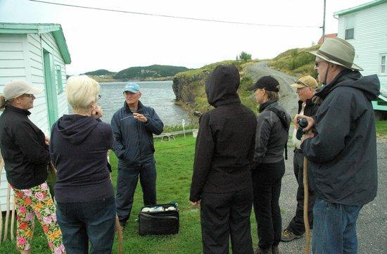 Trinity Historical Walking Tours: startpoint of the historical walking tour
