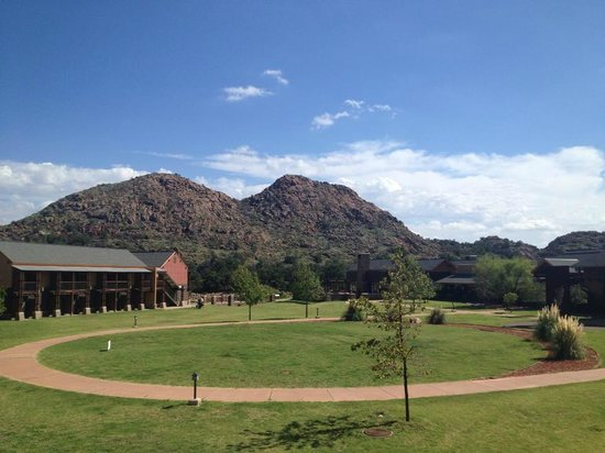Quartz Mountain Resort Arts & Conference Center: Beautiful landscape