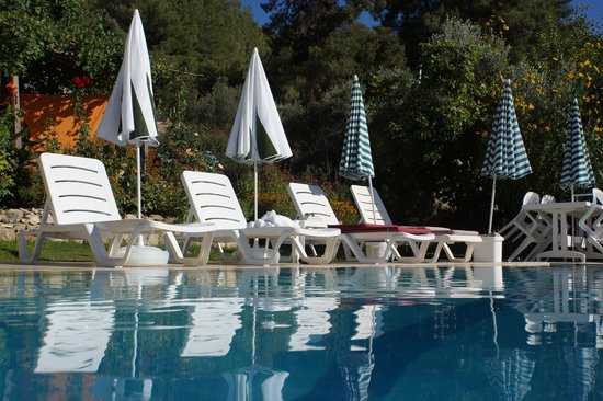 """Ephesus Boutique Hotel: """"Disappearing"""" pool"""