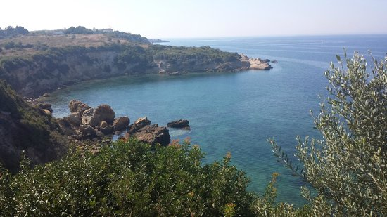 Club Resort Atlantis : vue de la mer egee