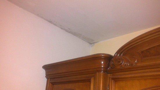 Pension Girasol : Humedad en el techo