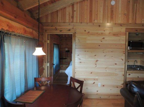 Glacier Trailhead Cabins: so spacious!