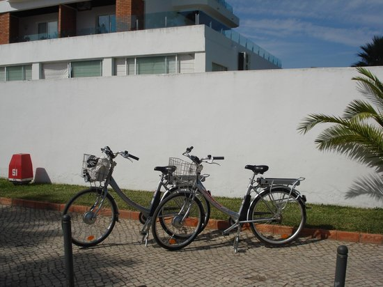 Alcazar Hotel & SPA: Electric Bikes hired from the hotel