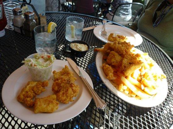 Seaport Grille: Fish & Chips split