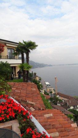 Boutique-Hotel La Rocca : Blick vom Balkon