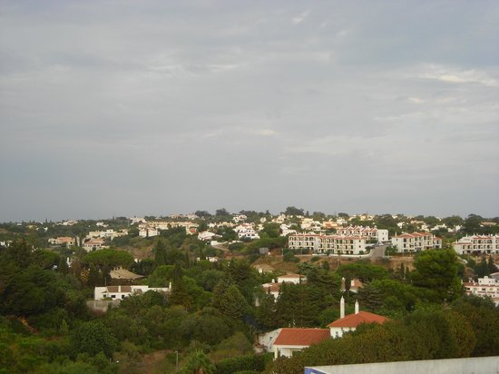Monte Carvoeiro: View from the balcony
