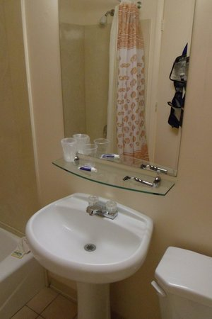 Glass Shelf In Bathroom Picture Of Driftwood Lodge Panama City Beach Tripadvisor