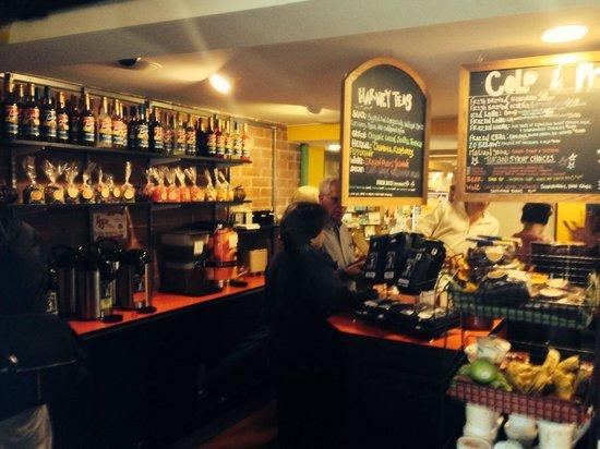 Spiral Press Cafe : Coffee Bar