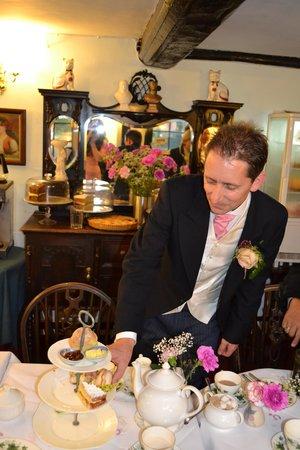 Bridge Tea Rooms: the groom