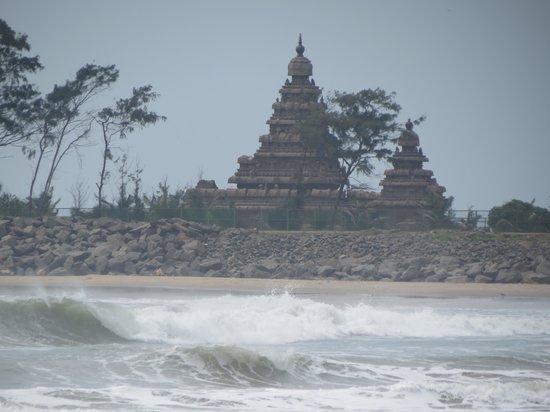 Radisson BLU Resort Temple Bay Mamallapuram: Spiaggia