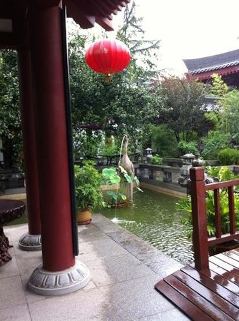 Tang Dynasty Art Garden Hotel : One of the Courtyards