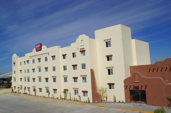 Hotel Zar La Paz: Main Entrance