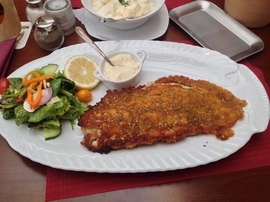 """Büsumer -Krabbenstube """"Zur Barkasse"""": Backfisch 01.10.2013"""