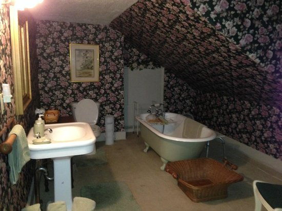 The Hermitage Bed and Breakfast : Shared Bathroom