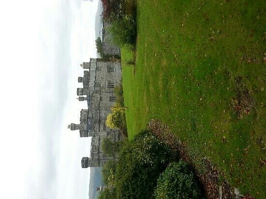 Glandyfi Castle : The Castle from the grounds