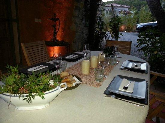 L'Ostal du Pic Saint Loup: Dining