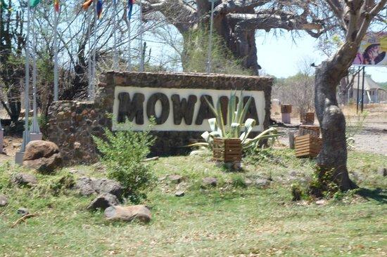 Cresta Mowana Safari Resort and Spa: entrada
