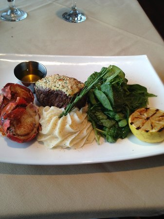 The Mill: Filet & 5oz Lobster