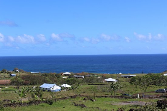 Cabanas Mana Ora: Vista desde la Cabaña