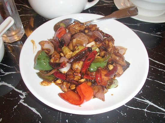 Bund Shanghai Restaurant : Great Kung Pao Chicken