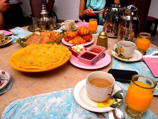 Riad Essaada : The breakfast was really tasty