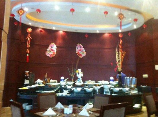 Daysun Park Hotel: breakfast room
