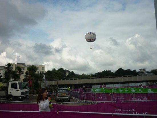 Hotel Collingwood: bournemouth balloon