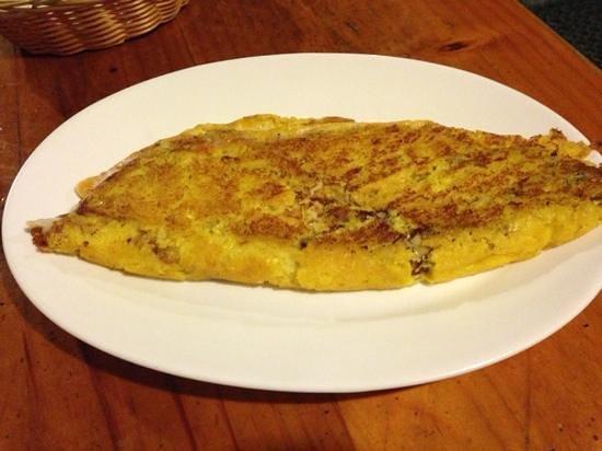 Restaurante Arepera El Jable: cachapas de dos quesos