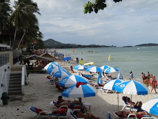 Chaweng Cove Beach Resort: beach
