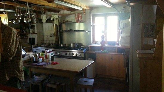 Rotstockhutte: Kitchen    - Rotstock Hut