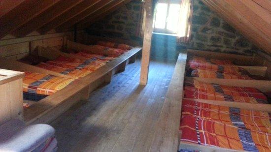 Rotstockhutte: Bunk Room upstairs    - Rotstock Hut