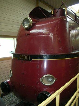 DB Museum: World Speed Record Locomotive BR005