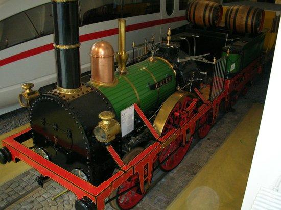 DB Museum: Historic Adler locomotive