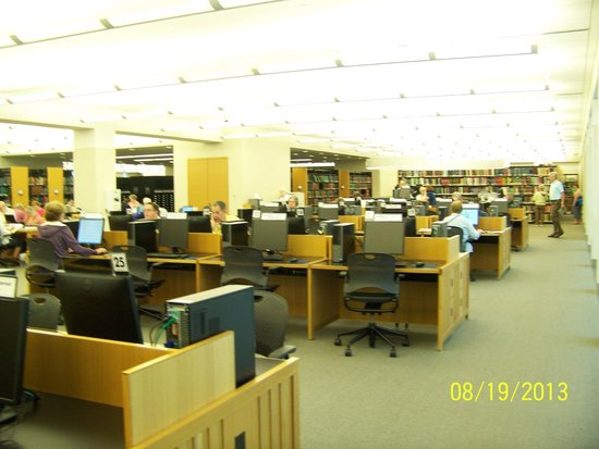 Allen County Public Library: Computers in Genealogy Center