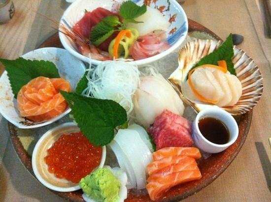 Restaurante Kazan: sashimi Kazan
