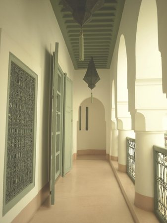 Riad Lalla Bahia : 廊下