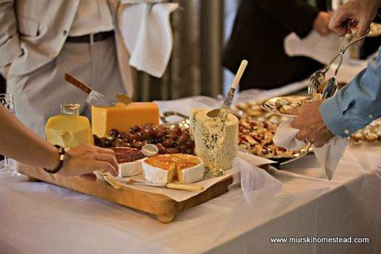 Murski Homestead B&B: Wedding Buffet