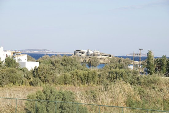 Porto Naxos Hotel : long range view of the sea