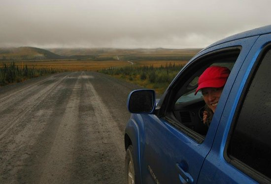 Yukon, Canada: The road is in pretty good shape. Slippery when wet