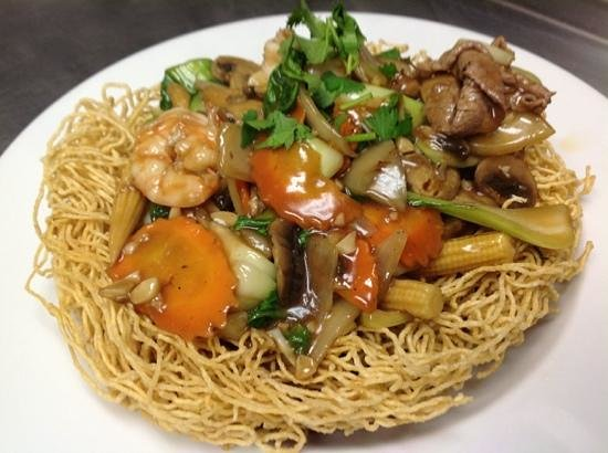 Saigon Restaurant: crispy fried noodles