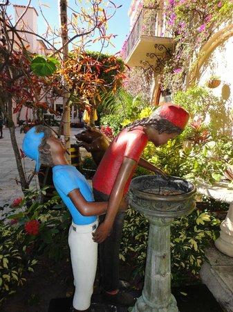 Downtown West Palm Beach: esculturas