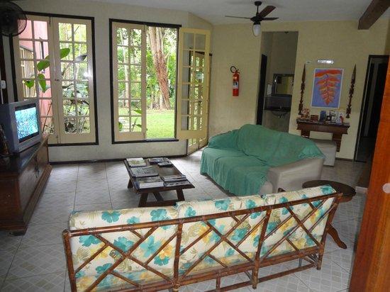 Pousada Portal de Paraty : Hall e sala de estar