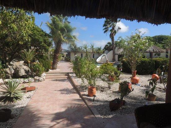 Club Arias B&B: The courtyard