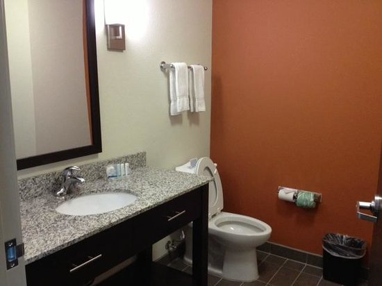 Sleep Inn & Suites Elk City: bathroom