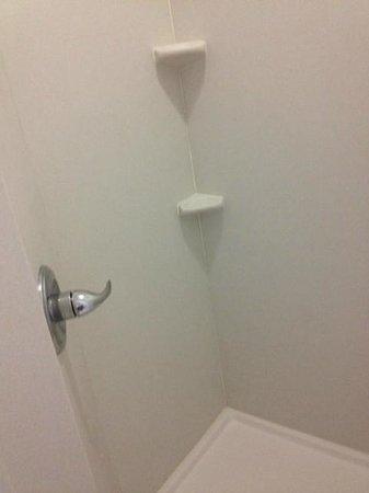 Sleep Inn & Suites Elk City: tiny shower stall