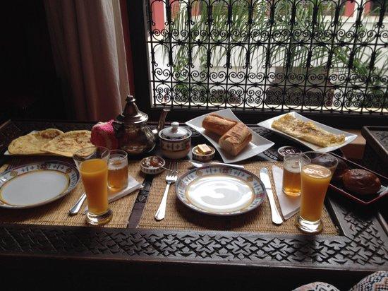 Riad Swaka : Frühstück